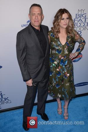 Tom Hanks , Rita Wilson - New York premiere of 'My Big Fat Greek Wedding 2' at AMC Loews Lincoln...