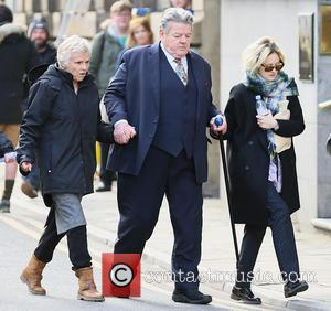Robbie Coltrane, Julie Walters and Andrea Riseborough