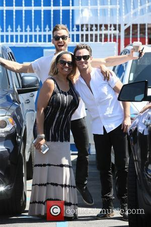 Kim Fields, Sasha Farber and Artem Chigvintsev