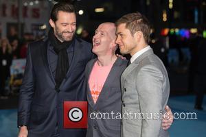 Eddie The Eagle, Hugh Jackman and Taron Egerton