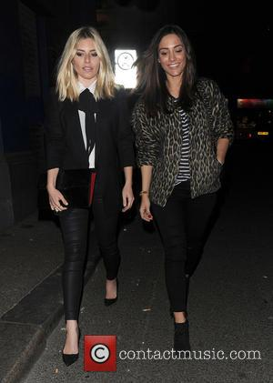 Mollie King , Frankie Bridge - Mollie King, Frankie Bridge, Rochelle Humes and Vanessa White from girl group 'The Saturdays'...