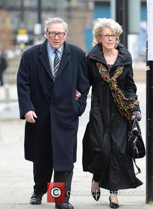 Sue Nicholls and Mark Eden
