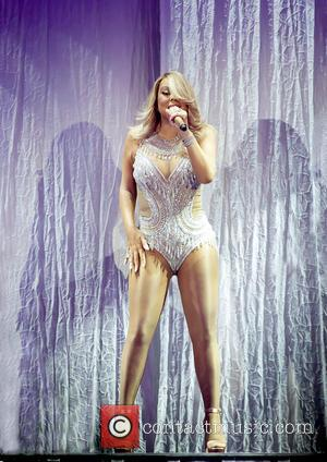 Mariah Carey - Mariah Carey performs at the Manchester Arena on 'The Sweet Sweet Fantasy Tour' at Manchester Arena -...