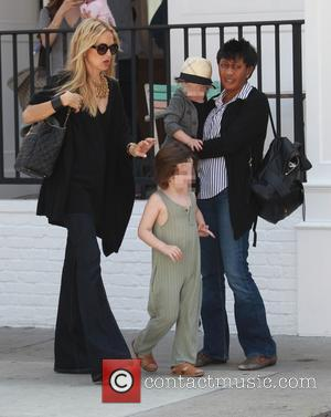 Rachel Zoe, Kaius Jagger Berman and Skyler Morrison Berman