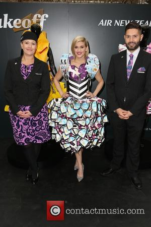 Emma Hardy, Ashley Roberts and Andrew Cooper