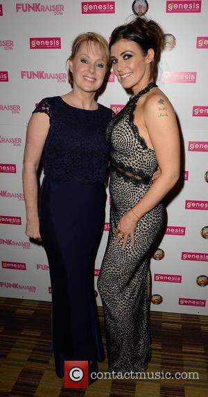 Sally Dynevor and Kym Marsh