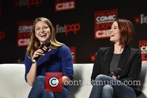 Melissa Benoist , Chyler Leigh - C2E2: Chicago Comic & Entertainment Expo at McCormick Place - Day 2 at McCormick...