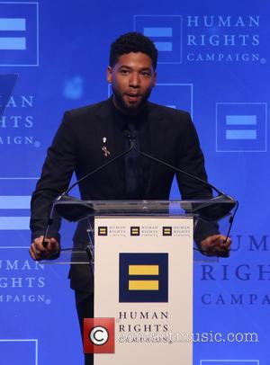 Jussie Smollett - Human Rights Campaign 2016 Los Angeles Gala Dinner Inside at JW Marriott Los Angeles at L.A. LIVE...