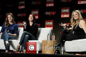 Chyler Leigh, Melissa Benoist and Clare Kramer