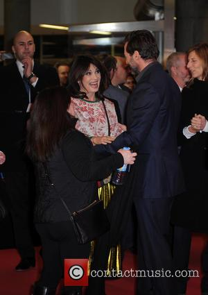 Iris Berben and Hugh Jackman