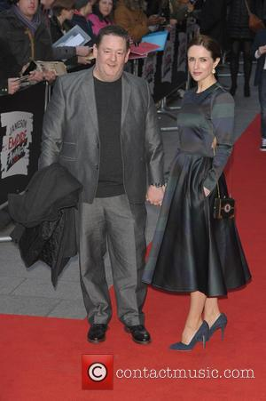 Johnny Vegas and Maia Dunphy