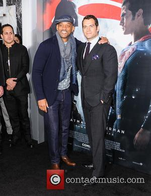 Will Smith , Henry Cavill - New York premiere of Warner Bros. Pictures' 'Batman v Superman: Dawn of Justice' at...