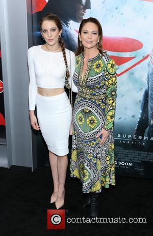 Eleanor Lambert and Diane Lane