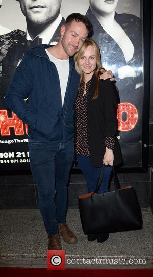 Tina O'brien and Adam Crofts