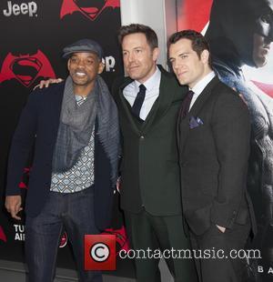 Will Smith, Ben Affleck , Henry Cavill - NY Premiere of Batman vs Superman Dawn of Justice at Radio City...