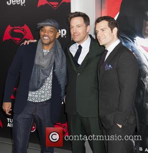 Will Smith, Ben Affleck and Henry Cavill