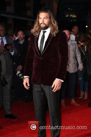 Jason Momoa - Celebs attend the European Premiere of 'Batman V Superman: Dawn Of Justice' at Odeon Leicester Square -...