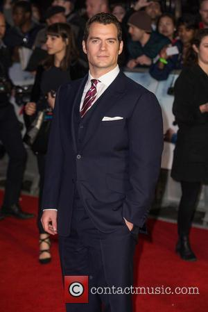 Henry Cavill Joined By Mum And Girlfriend On Red Carpet