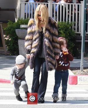 Rachel Zoe, Kaius Berman and Skyler Berman