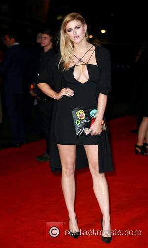 Ashley James - 'Batman v Superman: Dawn of Justice' film premiere, London, Britain - London, United Kingdom - Wednesday 23rd...