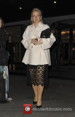 Alice Beer - Various celebrities seen leaving the RoyalTelevision Society Awards - London, United Kingdom - Wednesday 23rd March 2016
