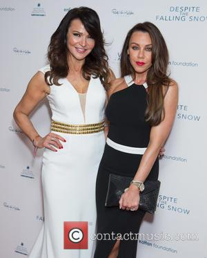 Lizzie Cundy and Michelle Heaton