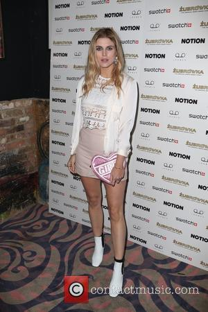 Ashley James - Celebs attend Notion Magazine issue 72 launch Party at Tape, London - London, United Kingdom - Thursday...
