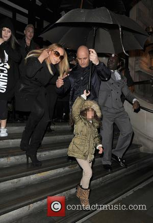 Mariah Carey, Moroccan Cannon and Monroe Cannon