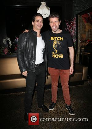Johnathon Schaech and Perez Hilton
