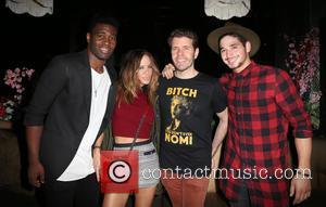 Keo Motsepe, Robin Antin and Perez Hilton
