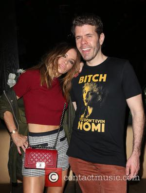 Robin Antin and Perez Hilton