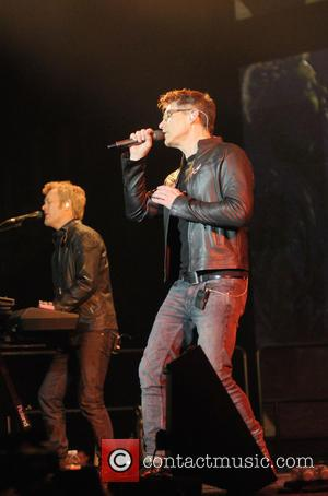 Magne Furuhdmen and Morten Harket