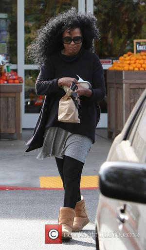 Diana Ross - Diana Ross stops by Bristol Farms in Beverly Hills on Easter Sunday at Bristol Farms - Los...