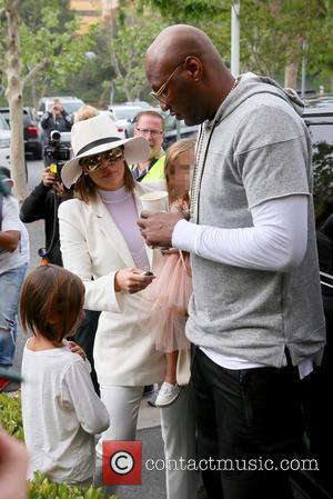 Khloe Kardashian And Lamar Odom Celebrate Easter Together
