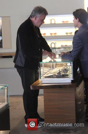 Ray Liotta - Ray Liotta goes shopping for jewelry at beverly hills - Beverly Hills, California, United States - Tuesday...