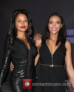 Claudia Jordan and Annie Ilonzeh