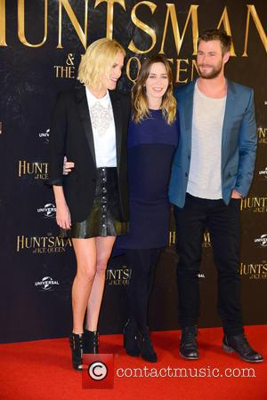 Charlize Theron, Emily Blunt and Chris Hemsworth