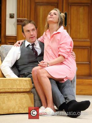 Jason Merrells and Tamzin Outhwaite