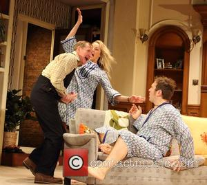 Matthew Cottle, Tamzin Outhwaite and Jason Merrells