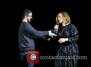 Adele Adkins - Adele wins an award whilst on stage in Birmingham as she wraps her UK tour. Adele was...