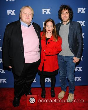 Louie Anderson, Martha Kelly and Jonathan Krisel