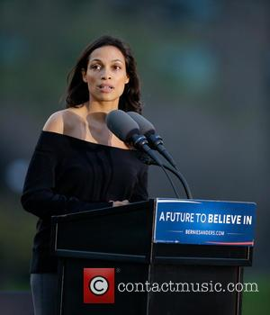 Rosario Dawson Arrested At Political Rally - Report