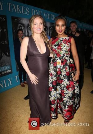 Erika Christensen and Kerry Washington