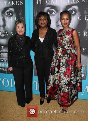 Barbara Boxer, Anita Hill and Kerry Washington
