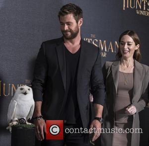 Chris Hemsworth , Emily Blunt - Photocall for 'The Huntsman Winter's War' at Claridge's Hotel in London. - London, United...