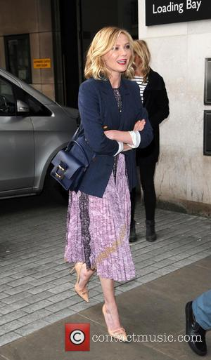 Kirsten Dunst - Kirsten Dunst arriving at the Radio 1 studios - London, United Kingdom - Thursday 31st March 2016
