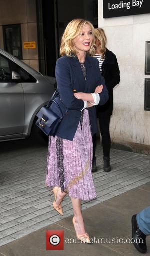 Kirsten Dunst - Kirsten Dunst arriving at the Radio 1 studios - London, United Kingdom - Thursday 31st March 2016