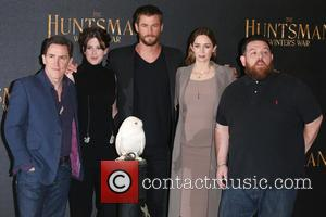 Rob Brydon, Alexandra Roach, Chris Hemsworth, Emily Blunt and Nick Frost