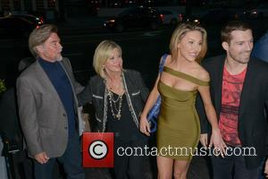 John Easterling, Olivia Newton-john, Chloe Lattanzi and James Driskill