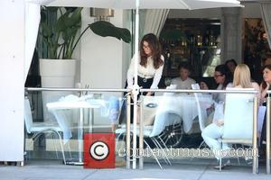 Lisa Vanderpump - Lisa Vanderpump and her husband Ken Todd have lunch at Villa Blanca restaurant in Beverly Hills -...